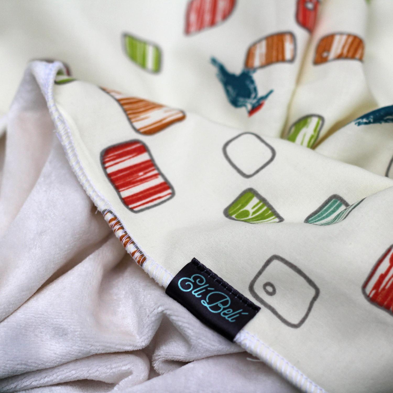 Bambusová deka - ptačí budky