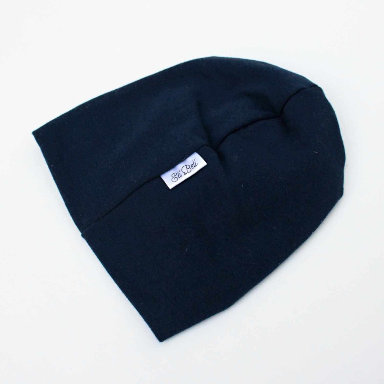 Elí Belí tmavě modrý turbánek